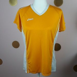 SALE 2 for $7: Asics Yellow Soccer Jersey